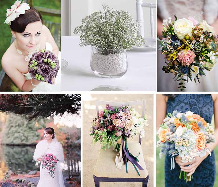 Best Flowers For Winter Wedding: Top 10 Ideas For 2014 Winter Wedding