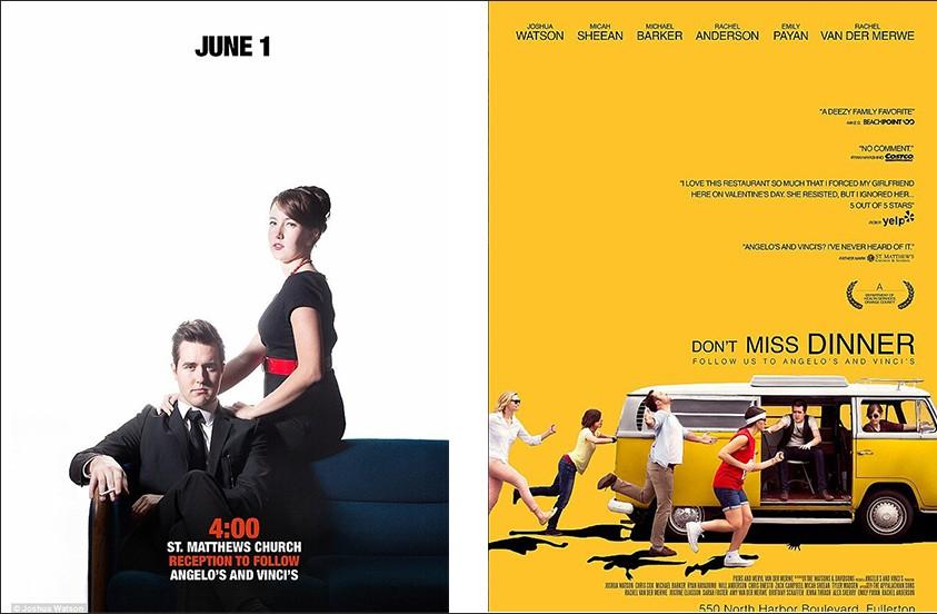movie poster wedding invites archives happyinvitation