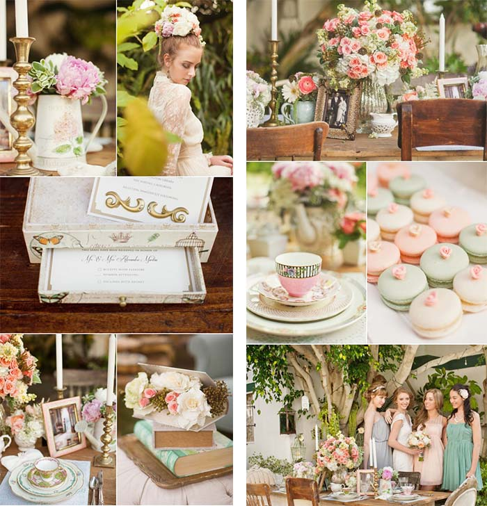 Vintage Themed Wedding: Vintage Wedding Theme- Victorian Wedding