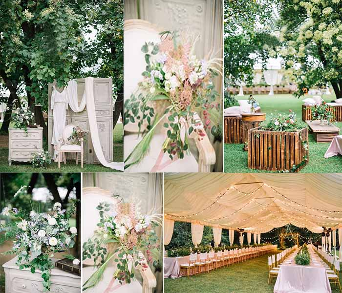 woodland lawn wedding party inspirations