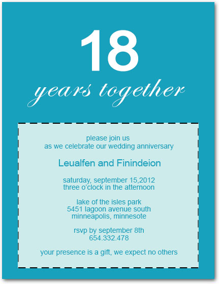 Anniversary party invitations classic and simple anniversary party cards hpa213 stopboris Gallery