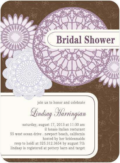 Paper Cutting Bridal To Be Celebration Cards HPB126