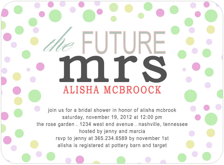 Invitations bridal shower cheap cheap wedding shower invitations the future mrs bridal shower invitation card hpb128 filmwisefo