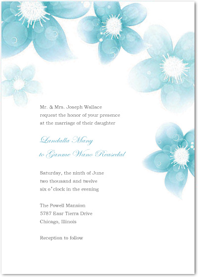 Smell Of Fresh Ink Wedding Invites HPI075