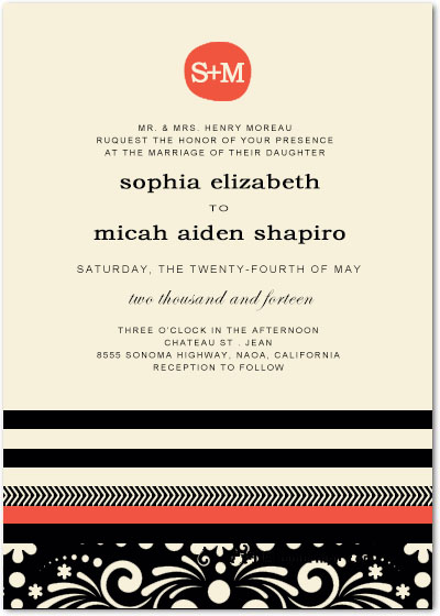 Embankment And Waves Walking Wedding Invitations HPI091