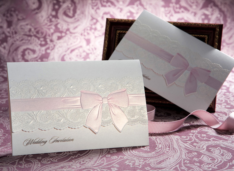 Cute Tri Folded Pocket Invitations HPI274
