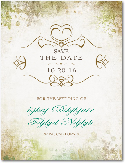 Confer Medals Save The Dates Cards HPS037