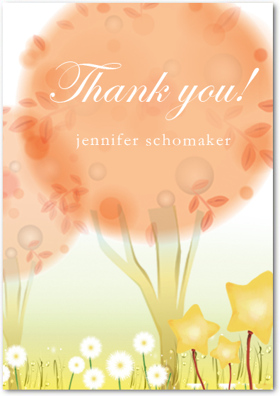 Fairy Tale Thank You Cards HPT220
