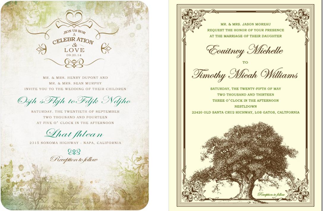 Wedding Party Invitation for Budget Wedding at Happyinvitation