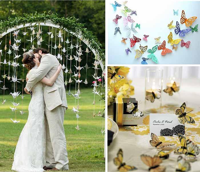 Attractive Butterfly Wedding Theme Ideas Happyinvitation