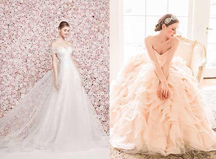 Cherry Blossom Wedding Dress Ideas