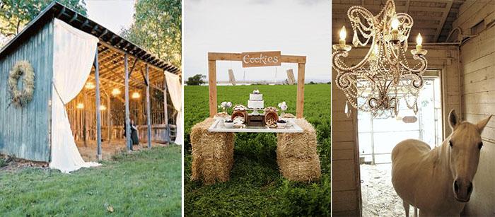 autumn engagement photo ideas - Themed Wedding Farm Wedding Ideas