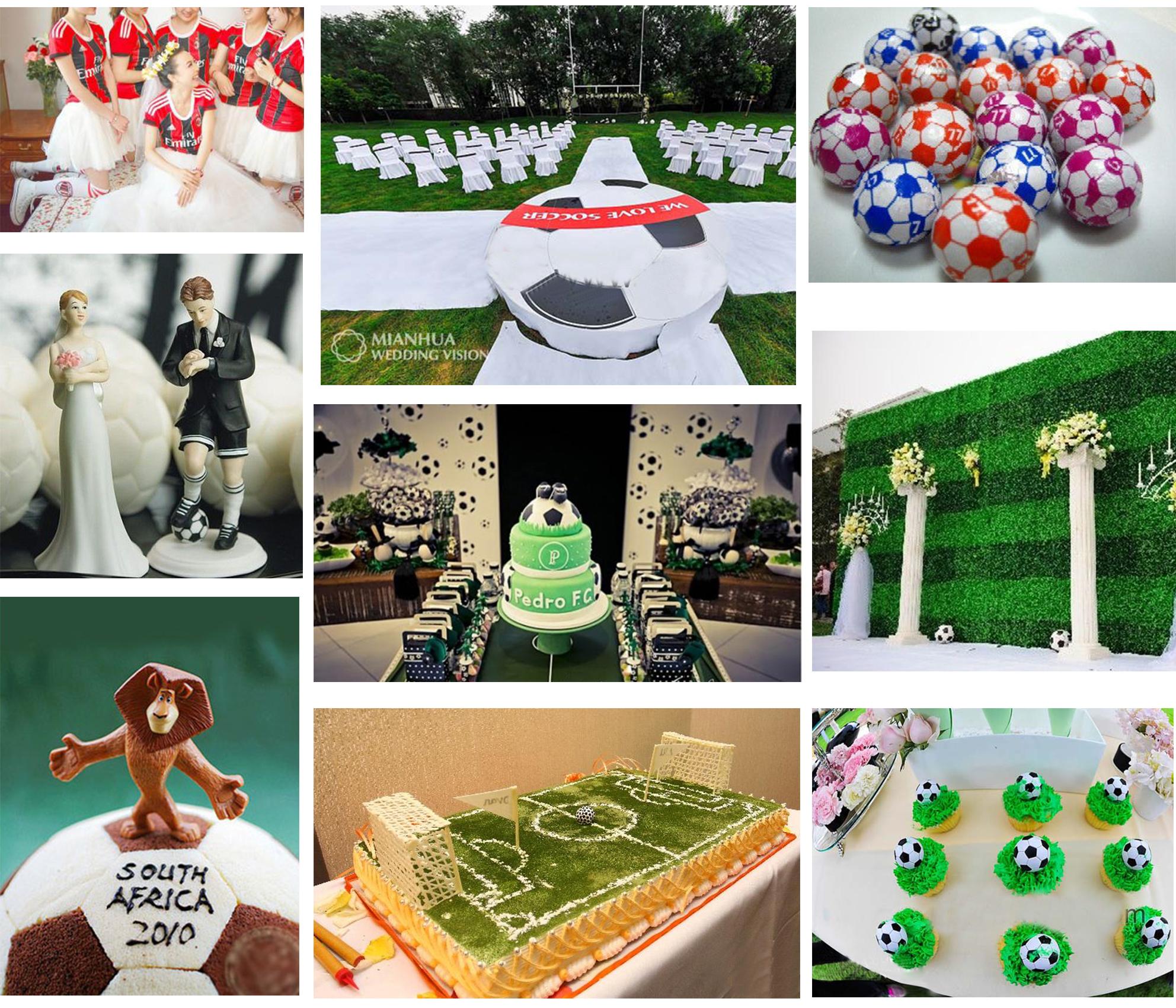 Soccer Themed Wedding Ideas: Football Themed Wedding Party