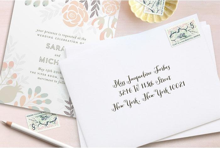 Bridal Shower Invitation Envelope Addressing Etiquette is adorable invitation design