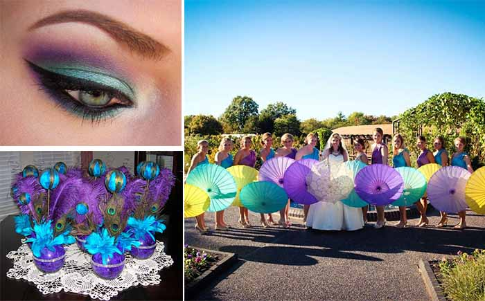 Teal And Purple Wedding Ideas: Funny Ideas Of Purple And Teal Color Themed Wedding