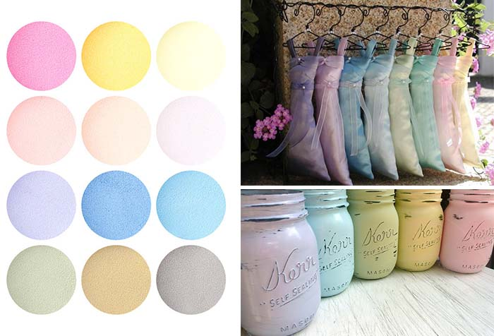Whimsical Pastel Color Wedding Ideas - Happyinvitation.com ...