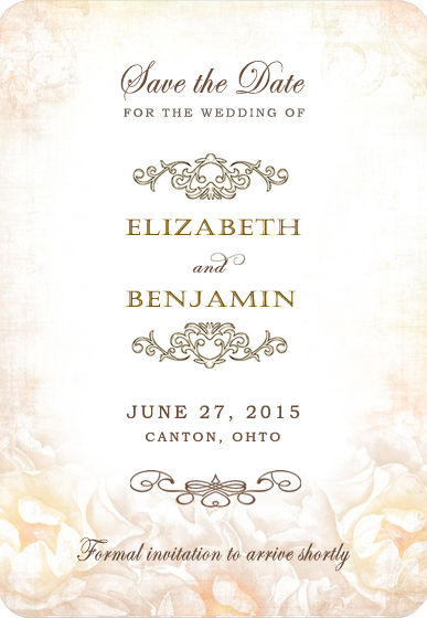 photo wedding invitations flower appear indistinctly iron wedding invitations hpi013 6500